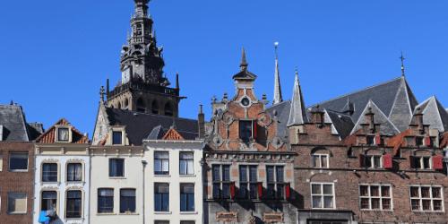 Vrijmibo op de grote markt in Nijmegen