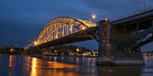 werkende leven in Nijmegen aan de waal